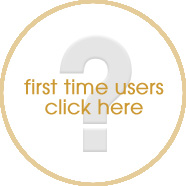 First Time Users Click Here Button